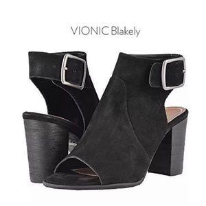 VIONIC Blakey Open Toe Bootie